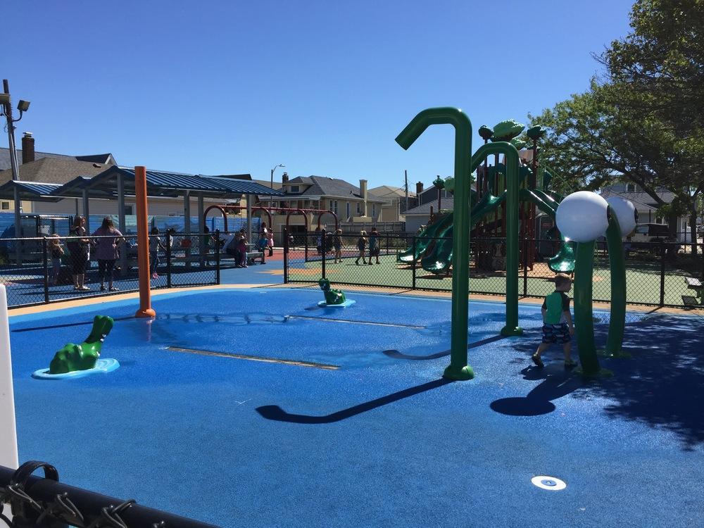 Sprayground at Georgia Ave Playground