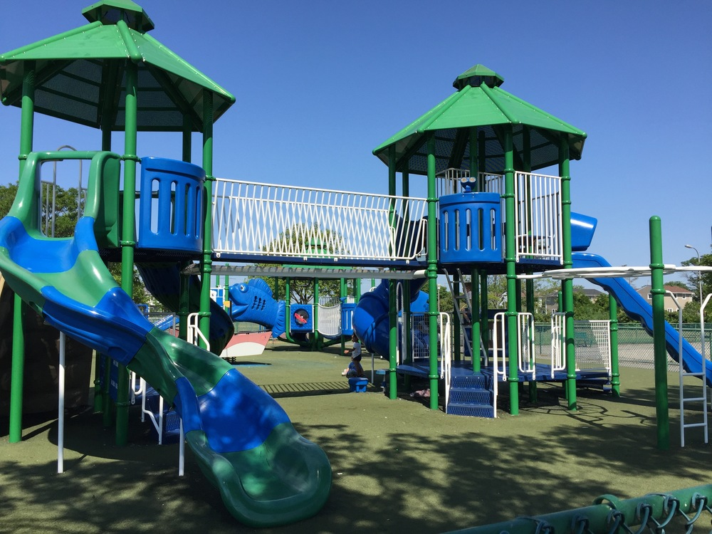 Playground at Cow Meadow Park