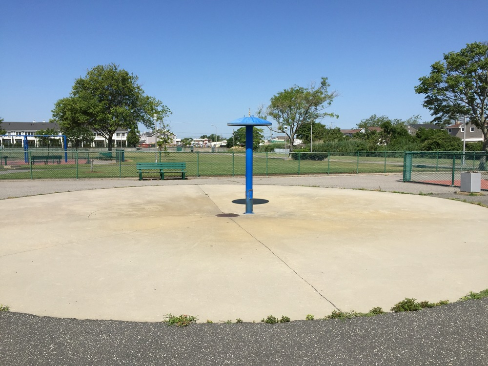 Sprayground at Cow Meadow Park