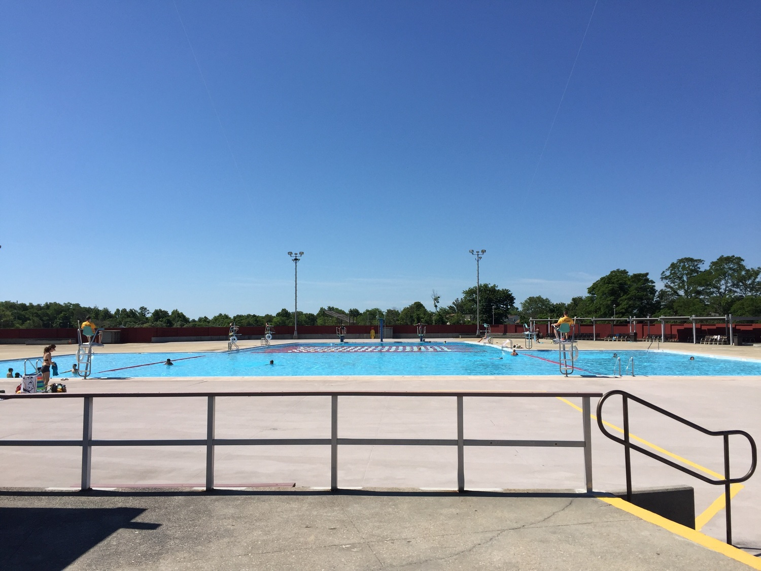 Echo Park Pool Complex — Long Island Playgrounds
