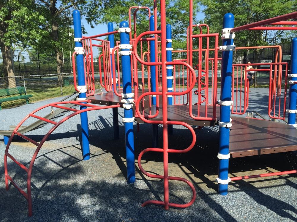 Little kid side at Allen Ellsworth Park