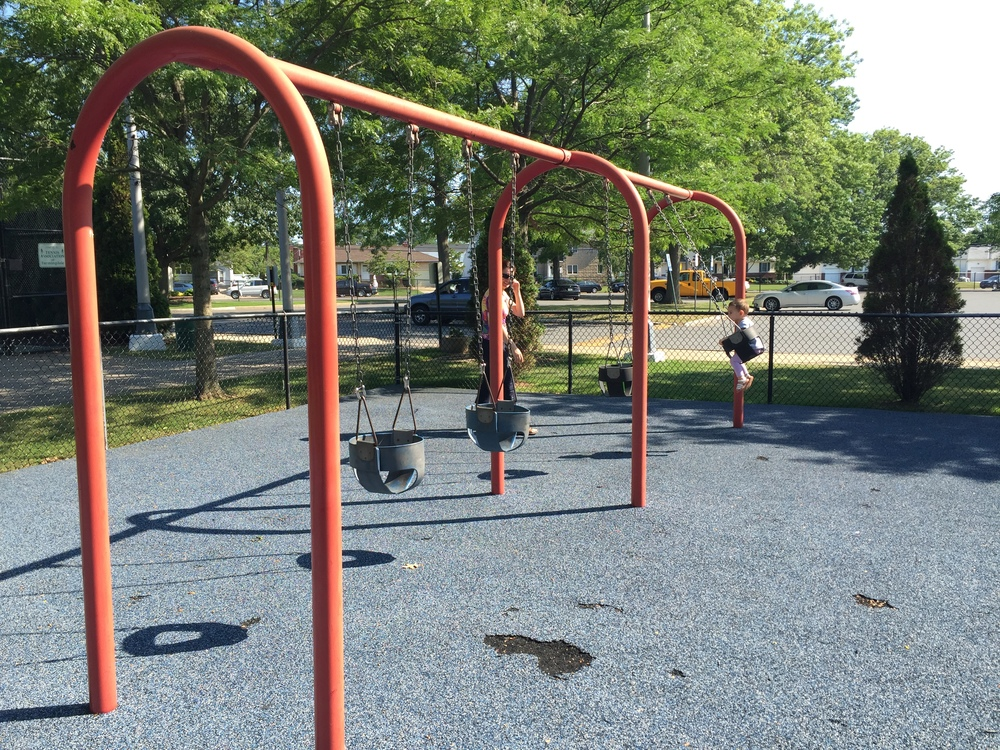 Swings at Allen Ellsworth Park