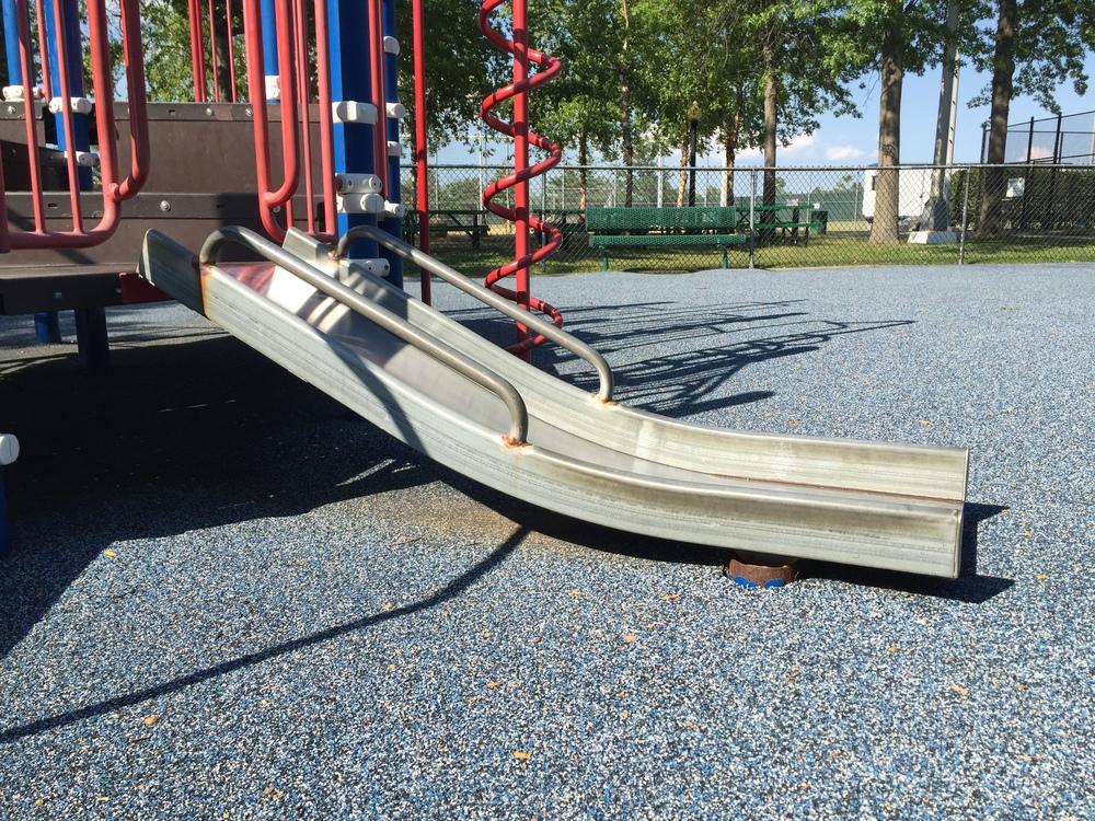 Baby slide at Allen Ellsworth Park