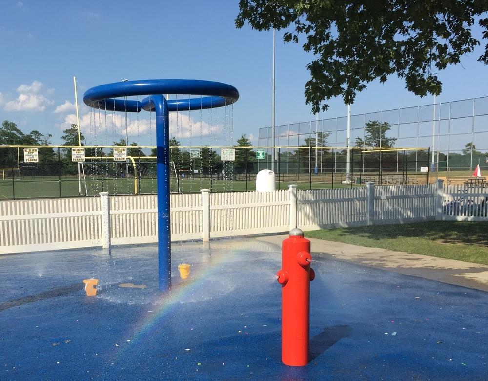 Sprayground at Allen Ellsworth Park