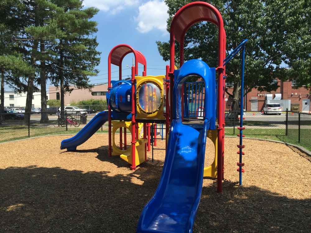 Playground at Blue Grass Lane Park