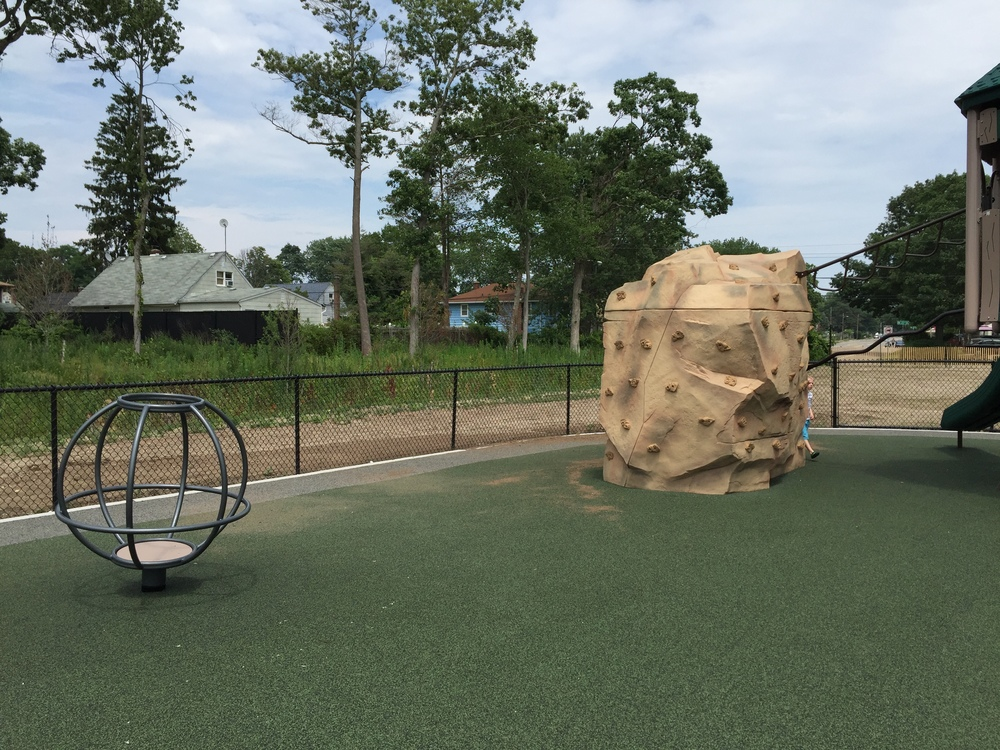 Rick climb at Geiger Memorial Park