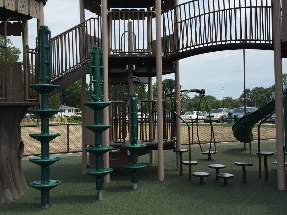 Playground at Geiger Memorial Park