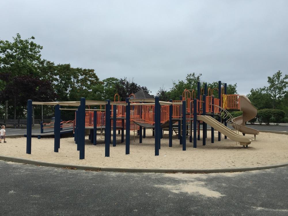 Main play section at Wantagh Park