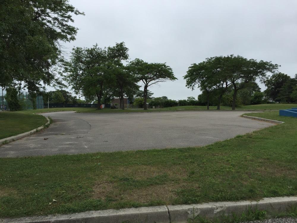 Marina playground skateboard area at Wantagh Park
