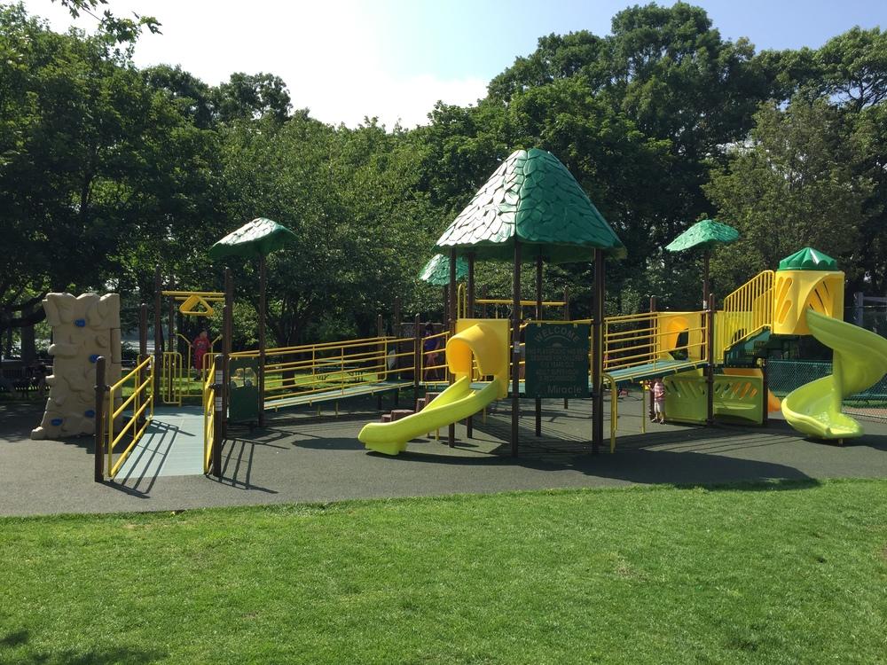 Playground at Brady Park