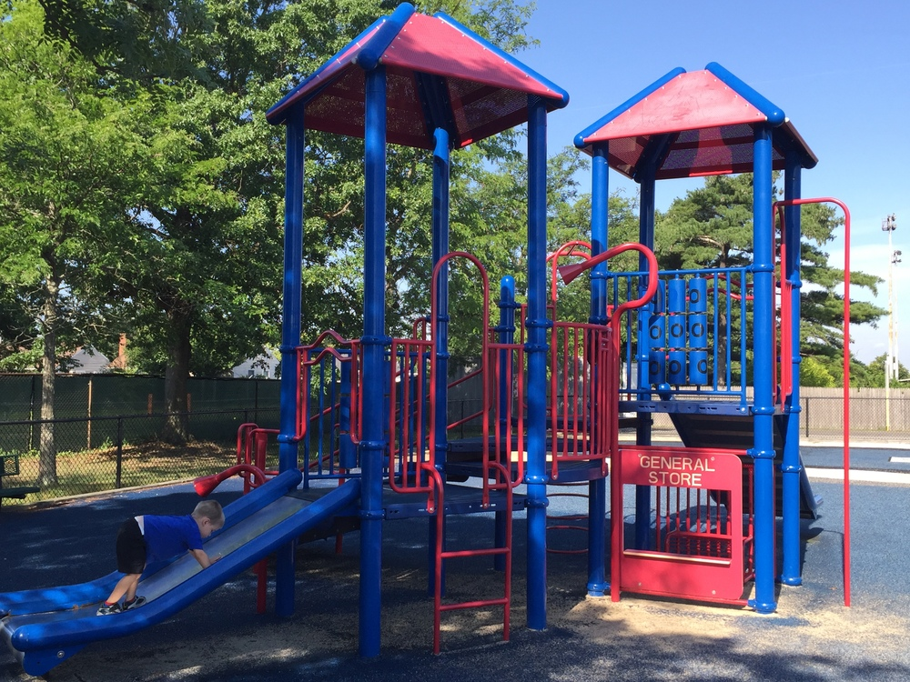 Little kid playground at Bethpage Community Park