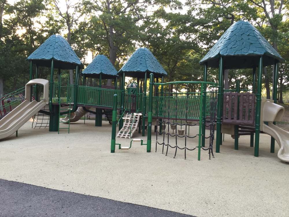 Big kid playground at Bethpage State Park