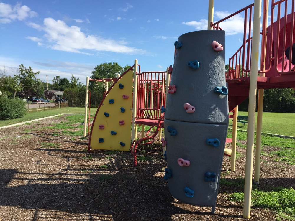 Rock Climb at Rose St Playground
