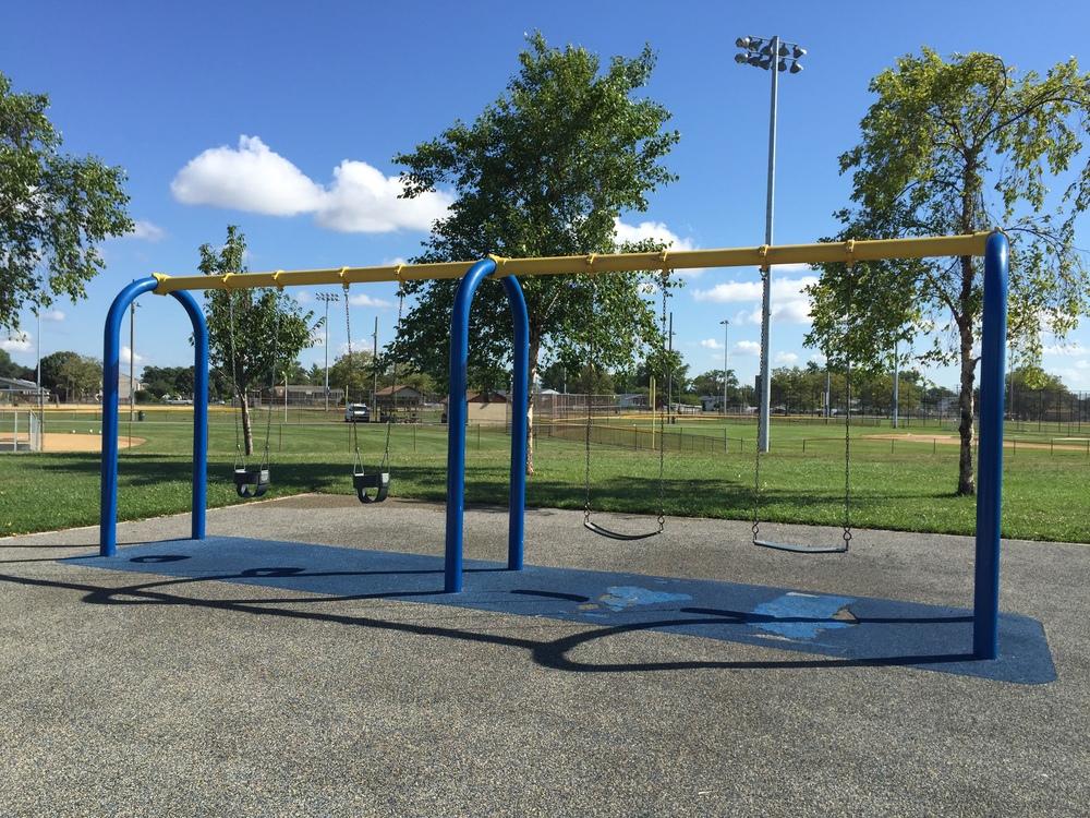Swings at Tanner Park