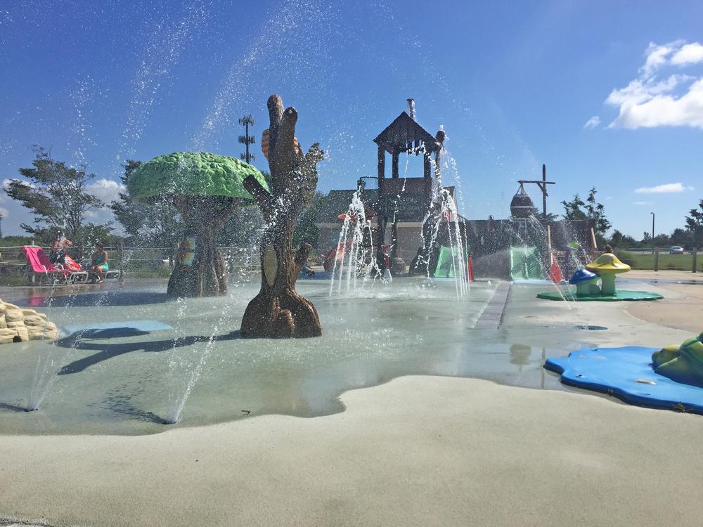 Sprayground at Tanner Park