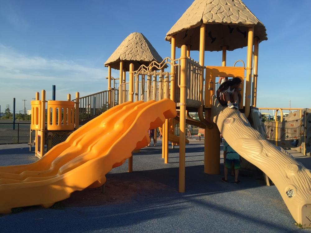 Playground at Nickerson Beach