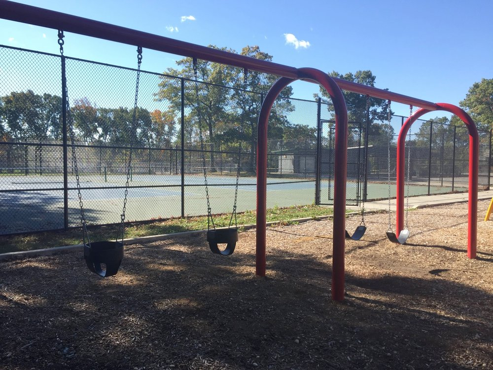 Swings at Haypath Road Park