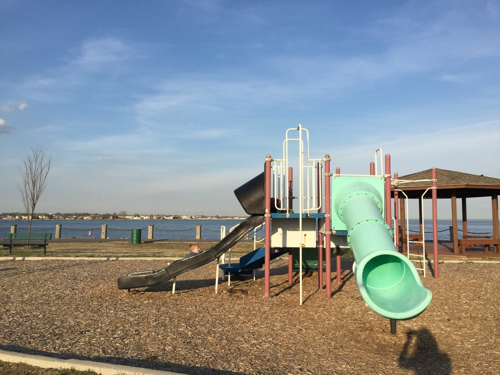 Slide at Nassau Shores Bayfront Park