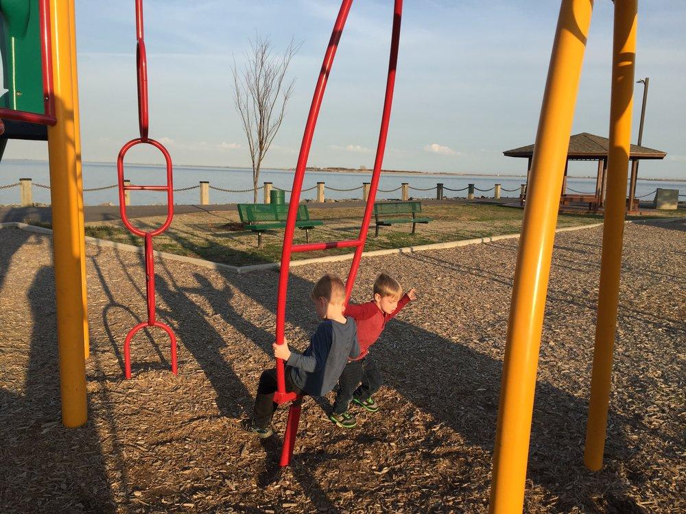 Playground at Nassau Shores Bayfront Park