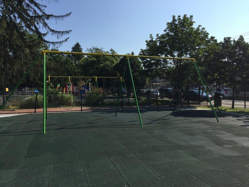 Greis Park Playground Swings