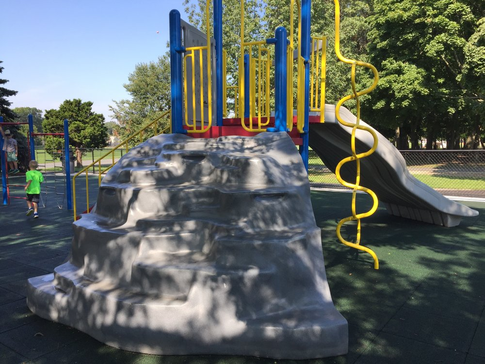 Greis Park Playground Rock Climb