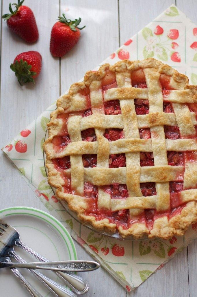 Rhubarb is only in season for a little bit each year, so if your wedding falls in this window take advantage and serve strawberry rhubarb pie, your guests will thank you!
