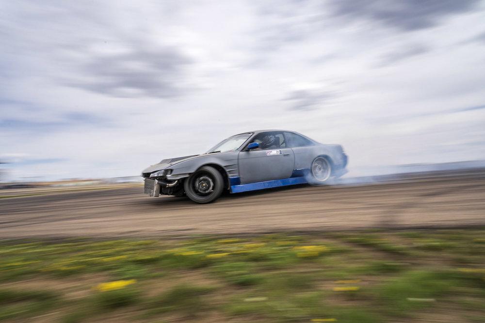 nissan 240sx s14 drifting car photography Brian Laiche