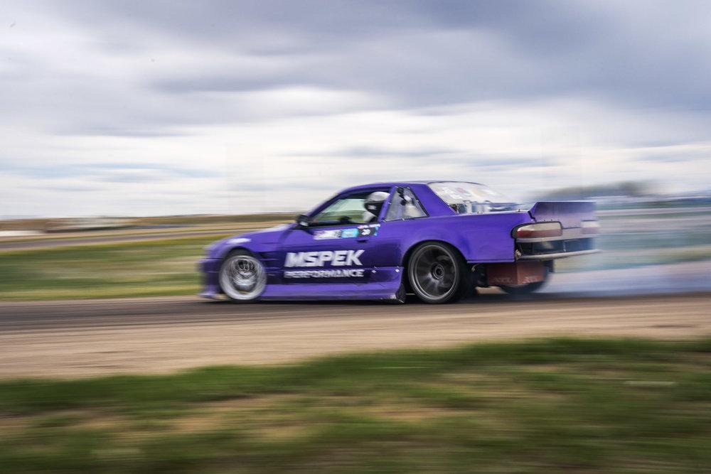 nissan 240sx s13 drift rear car photography Brian Laiche