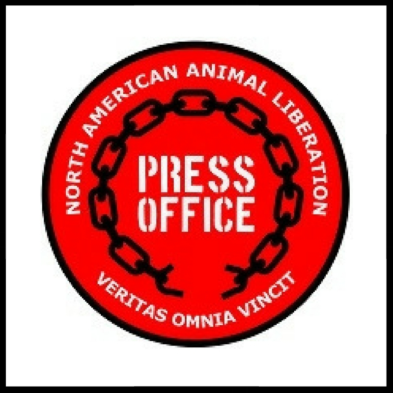 NORTH AMERICAN ANIMAL LIBERATION PRESS OFFICE