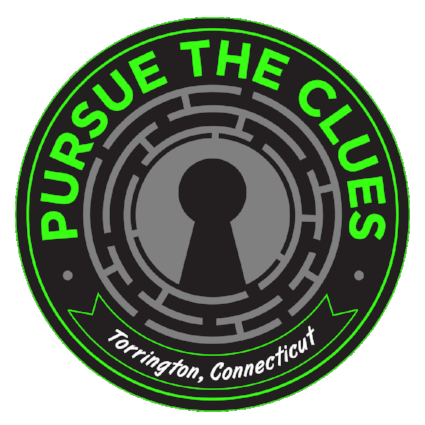 Pursue the Clues Logo