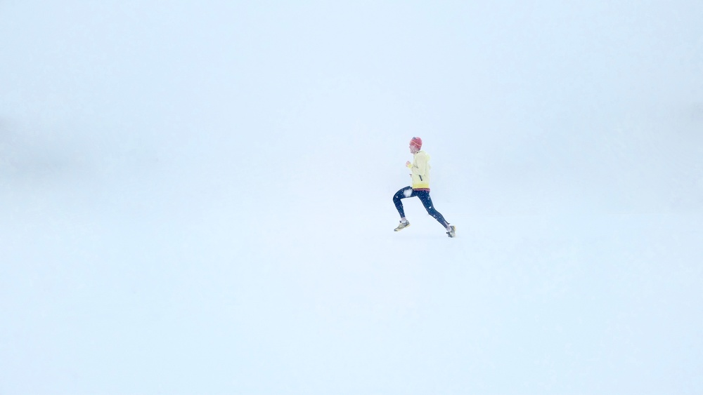 I found this on UnSplash. Where is he going? Photo by Isaac Wendland