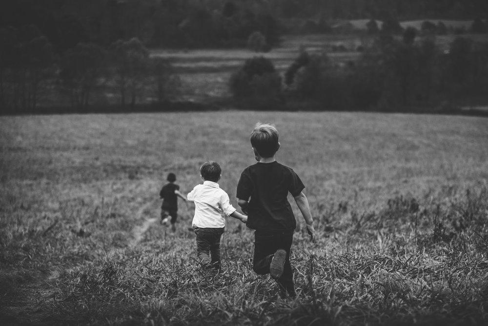 I think they're running towards something good. Photo by  Jordan Whitt