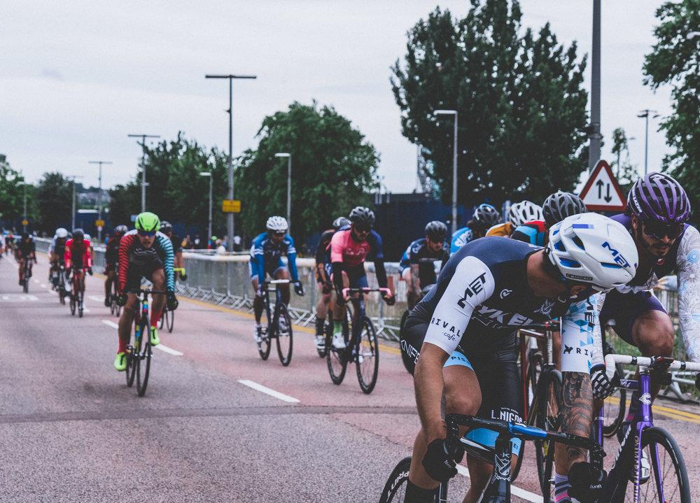 It's not a race. Photo by  Boris Stefanik