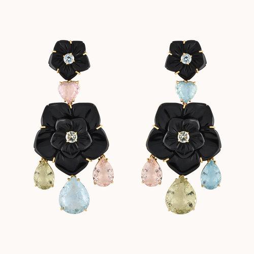 f1acc0c1def003 Irene Lummertz Jewelry— Onyx Camellia Earrings
