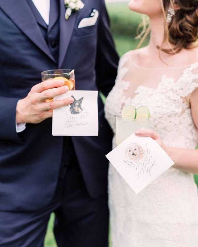 Dogs and cocktails — you can't ever go wrong. 🐾🍸 Featured on @martha_weddings ! (bucket list ✔️). Photo: @hunterryanphoto | Planning: @amoreeventco . . . .  #calligraphy #dailydoseofpaper #thatsdarling #moderncalligraphy #invitation #wedding #custominvitations #etsy #invitationsuite #bridal #weddingideas #weddingdesign #weddingplanning #weddinginspo #handmadeinvitations #makersgonnamake #flourishforum #livethelittlethings #theartofsimplicity #escortcards #placecards #rusticwedding