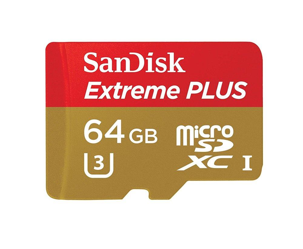 - SANDISK EXTREME PLUS 64GB MICROSDXC