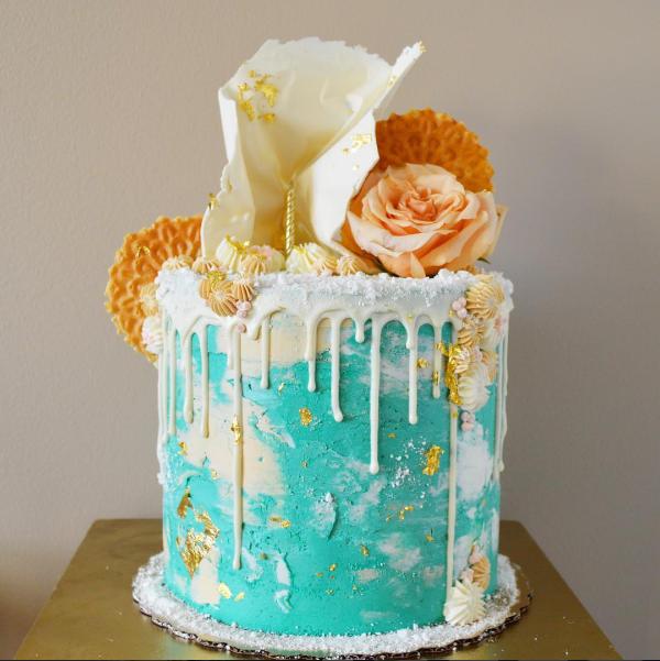 Summery cake