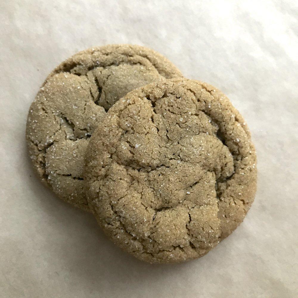 Sugar & Spiced Chewy Gingerbread