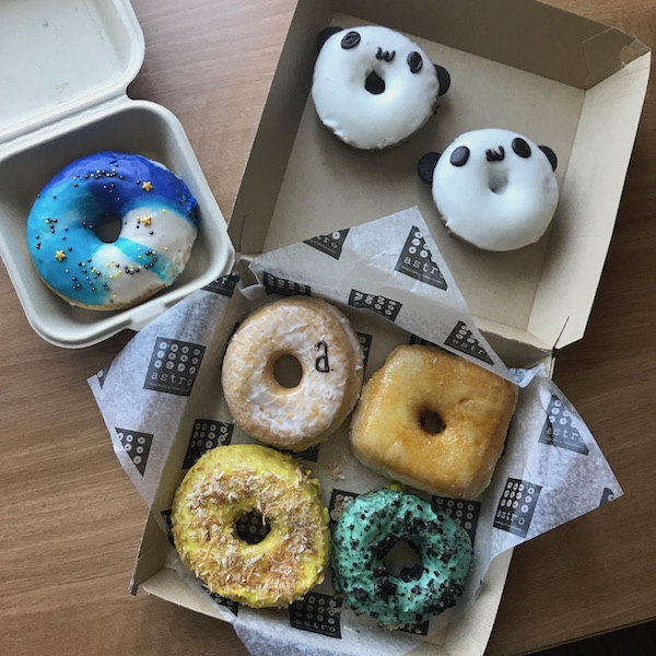 Mini doughnut feast