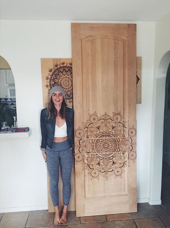 If you are a HomeBuilder/Interior Designer and are interested in my hand wood-burned door pieces. Please inquire through e-mail link below or my Contact page.