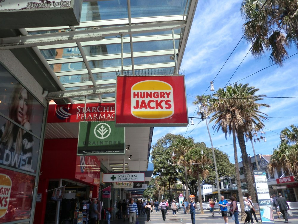 Australia's version of Burger King