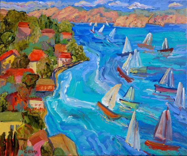 Sail Away, 16x20
