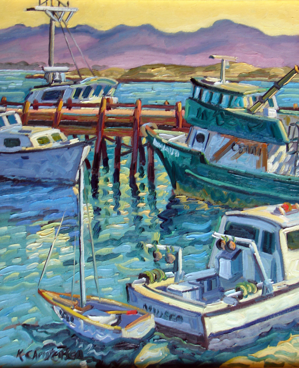 Fishing Boats 24x20