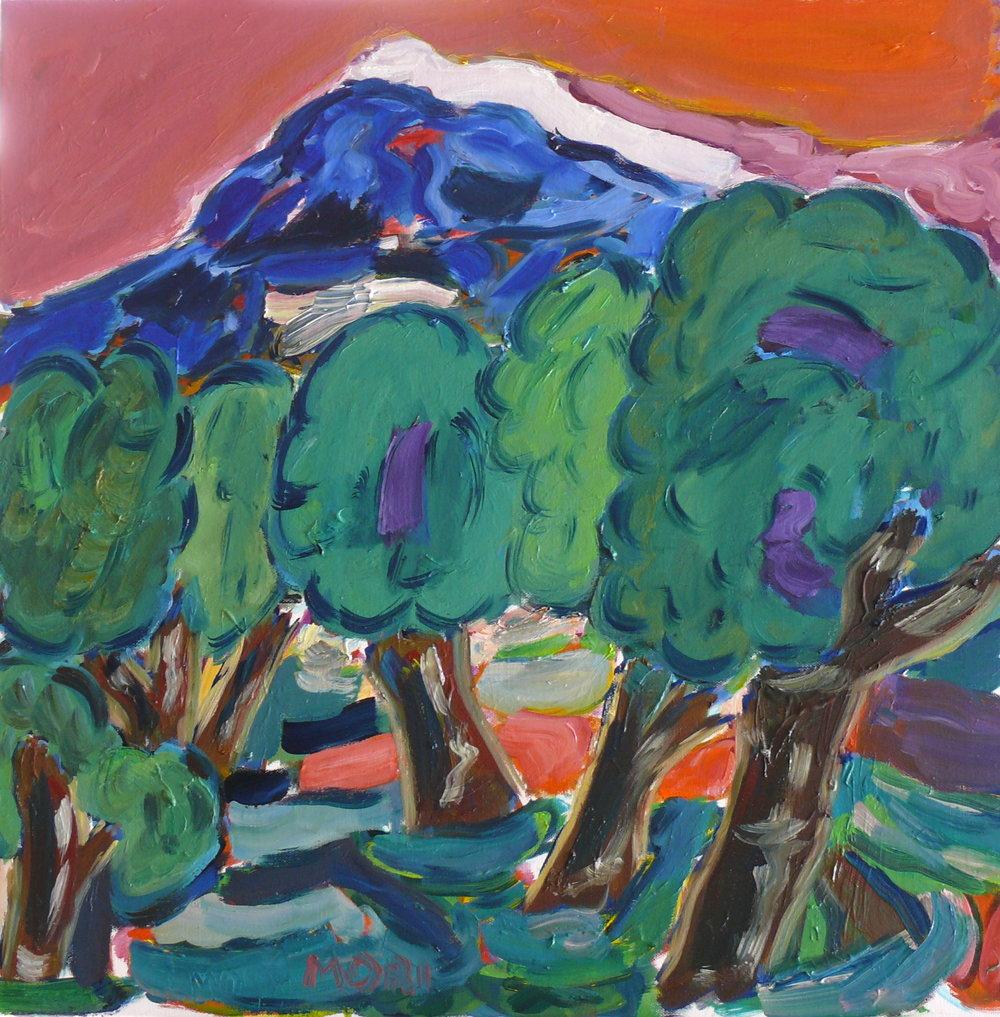 Les arbres en Provence 24x24