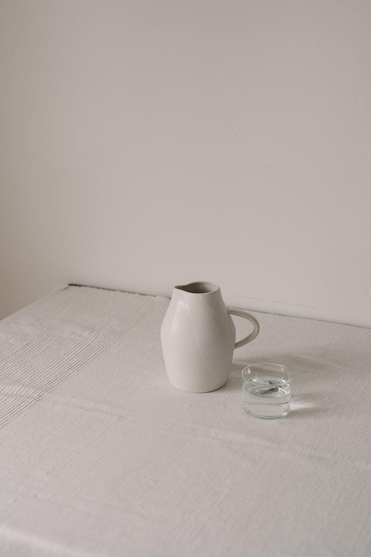 trefoil pitcher