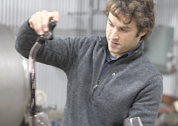 Stuart Dudine created Alkimi Wines out of a quest to sculpt wine by choosing parcels of grapes which reflect his winemaking philosophy.  Image source:  Alkimi Wines