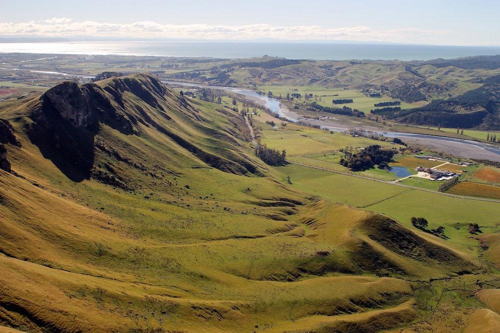 The Decibel vineyards in Hawkes Bay. New Zealand's oldest and best premium wine region