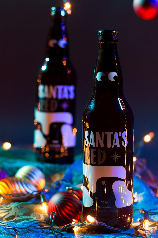 Santa's Red 2016 - Imperial Red Ale de 8.5% de Alc.