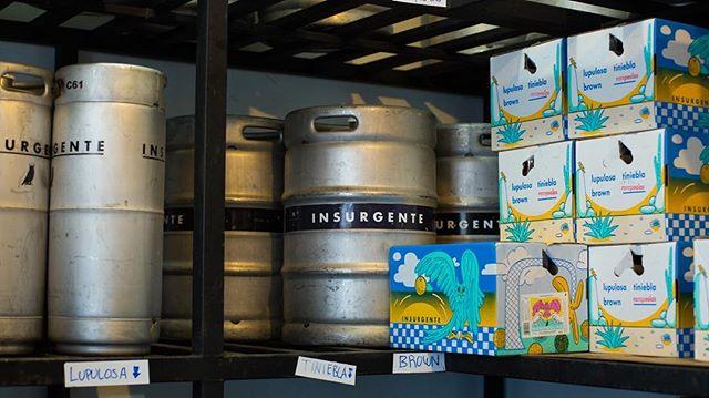 ¡Tenemos una vacante disponible! Entra a nuestro Facebook para conocer más y unirte a nuestra cervecería. #SéInsurgente #Cervecería #BreweryLife #CraftBeer