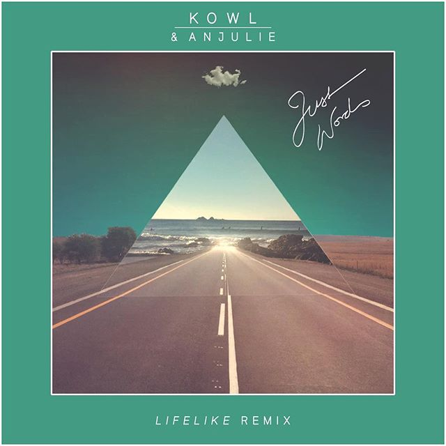 """Nu Disco-pioneer and French House DJ, Lifelike has remixed """"Just Words"""" by @anjuliemusic & @_kowl_ and we are super excited to be releasing it next week May 11th on Casablanca Sunset!!"""